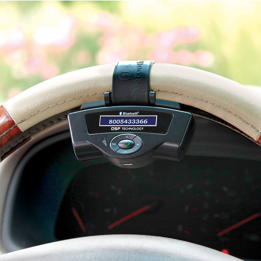 steering wheel speakerphone