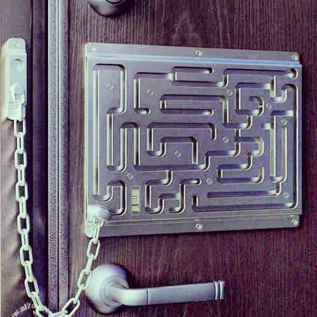 door chain lock puzzle