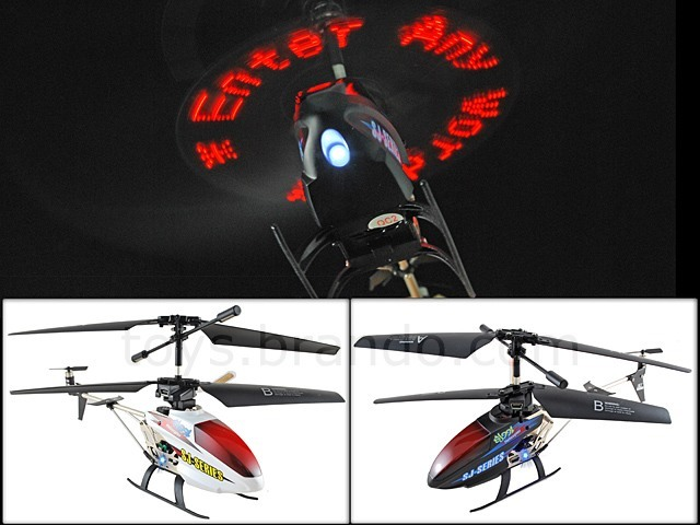 message helicopter