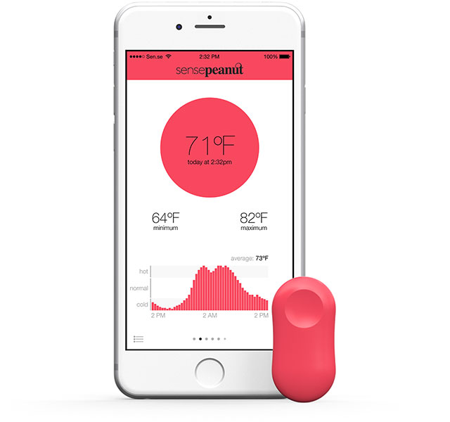 ThermoPeanut-Smartphone-Connected-Thermometer