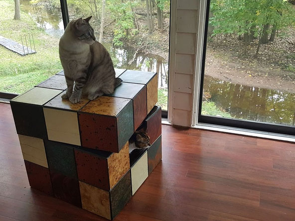 rubiks-cube-cat-bed